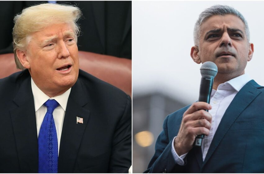 Trump Discriminates Against me on Every Level because of Islam: London's Mayor Sadiq Khan