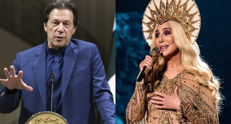 Goddess of Pop Cher Meets PM Imran Khan Finally- And it's about Kaavan