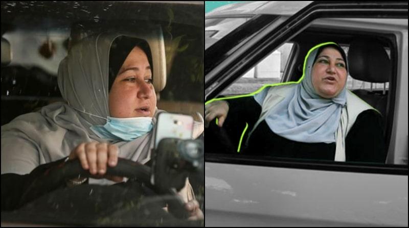 Meet Gaza's 1st Daring Female Taxi Driver Nayla Abu Jubbah