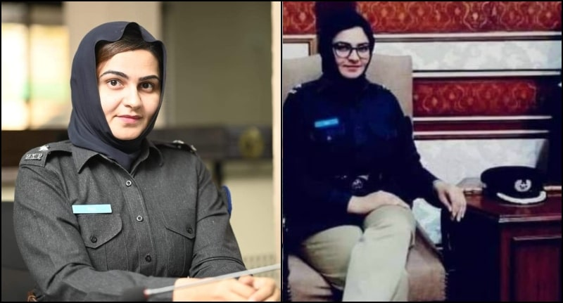 Pari Gul is 1st Balochistan's Female PSP officer Who Became ASP Quetta