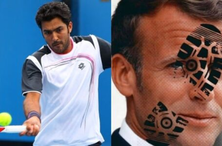 Tennis Star Aisam to Wear White Armband in Paris Masters as Protest against Macron