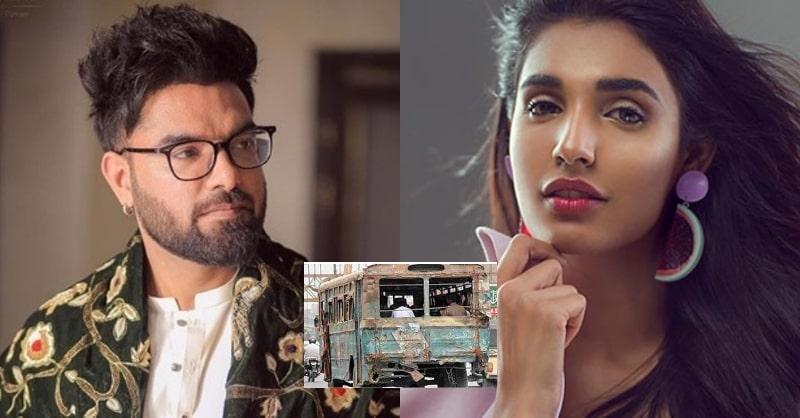 Yasir Hussain & Amna Ilyas Saddened over Karachi's Wrecked Transportation