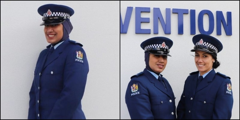 Meet Zeena Ali: New Zealand's 1st Policewoman to Wear Hijab With Uniform