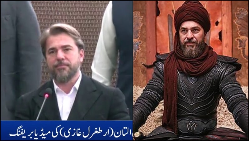 Ertugrul Star Engin Altan Düzyatan has Finally Made it to Pakistan