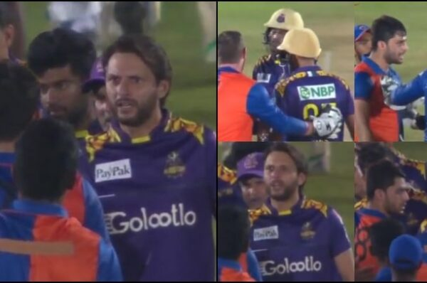 Afridi Erupts in Anger on Afghan Pacer for Abusing Amir