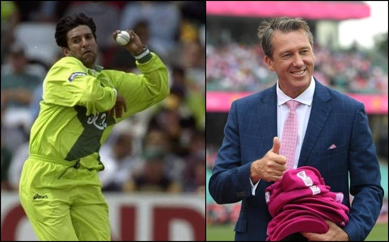 Australian Legend Glenn McGrath Places Wasim Akram on TOP in All-Time ODI Bowlers