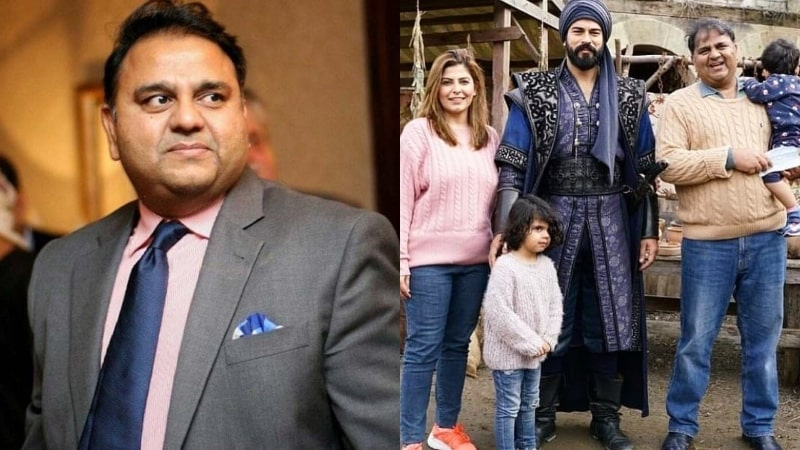 Fawad Chaudhry makes a Family Visit to Set of Famous Turkish Drama Kurulus: Osman