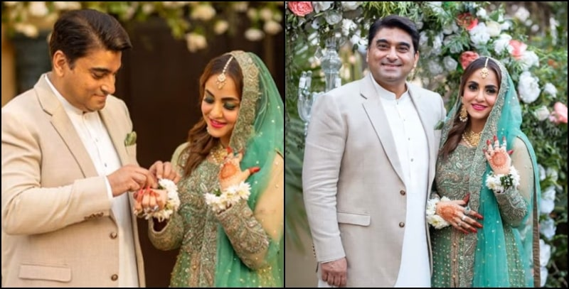 In Pictures: The Inside Look of Famous Nadia Khan's 3rd Marriage