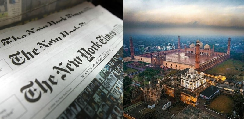 Lahore Shines in New York Times Among 52 Most-Loved Places in 2021