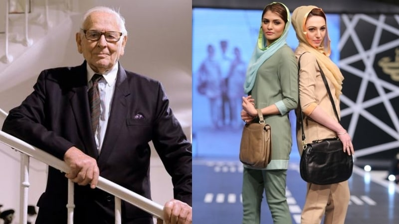 French Designer Pierre Cardin Who Designed PIA Uniforms PASSED AWAY
