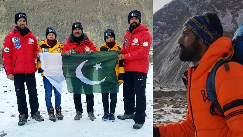 NUST Student Sets World Record by climbing Pakistan's 37th Highest Yazghil Sar Peak in Winters