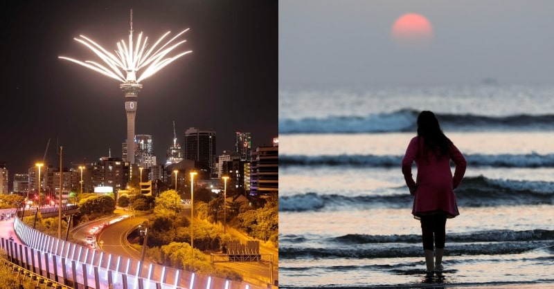 New Year Celebrations in Pictures: Slinks Away 2020 into History