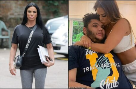Model Katie Price talks About her Motherly Fears for Son Harvey