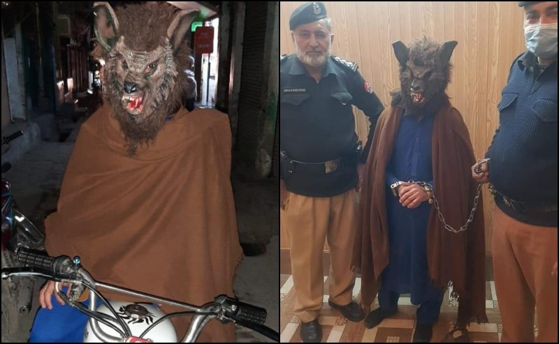 This Pakistani 'Wolfman' Featured in New York Post: INTERESTING