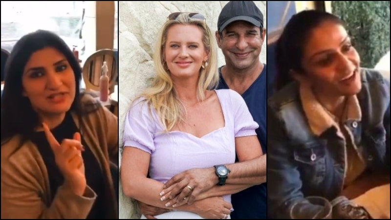 Shaniera Akram Encounters Islamabad's Cannoli Cafe owners for 'English Competition'