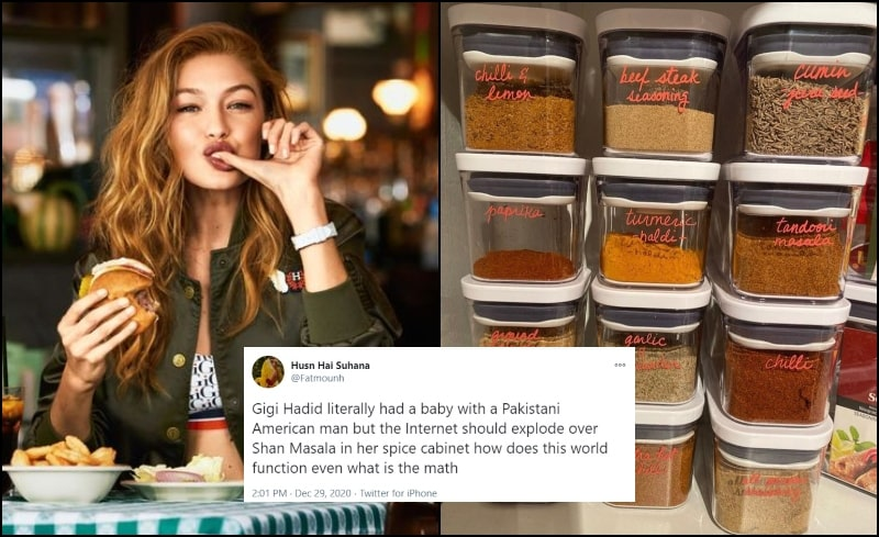 Is That Shan Masala in Gigi Hadid's Kitchen? Desi Twitter Goes Crazy