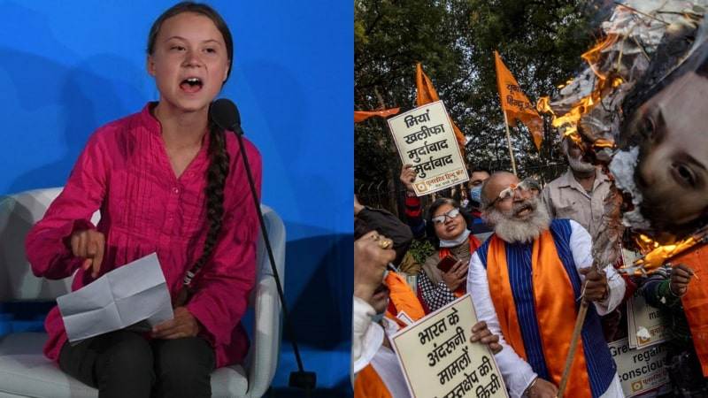 Delhi Police File Case Against Greta Thunberg for Supporting Farmers Protest: Very Typical India