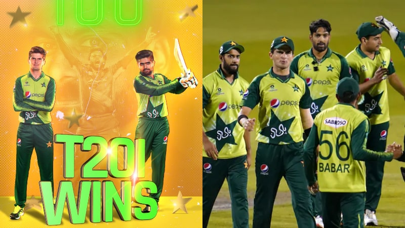 Pakistan Cricket Team Became World's 1st to Register 100 Wins in T20Is: Congratulations