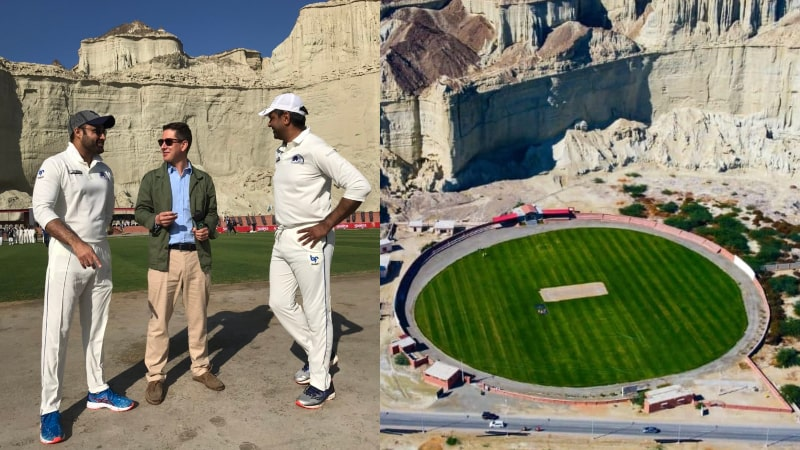 World's Most Beautiful Gwadar Stadium Hosts its First Cricket Match