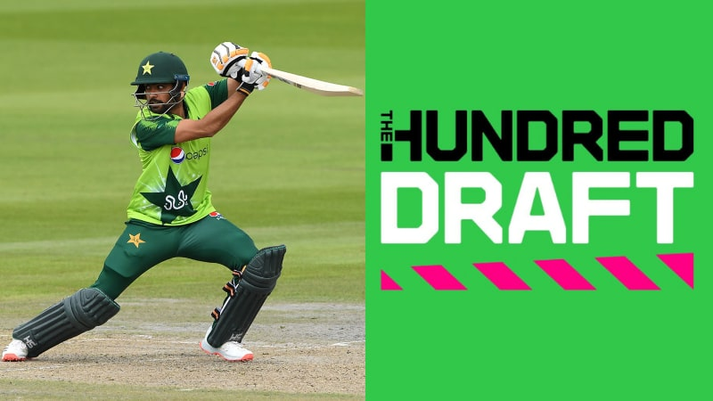 Babar Azam Named in 11 Most Expensive Players as Per The Hundred Cricket Draft