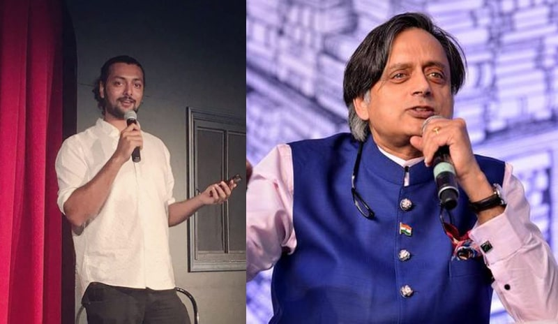 Shashi Tharoor Requests Pakistani Comedian Akbar Chaudhry to Mimic Imran Khan