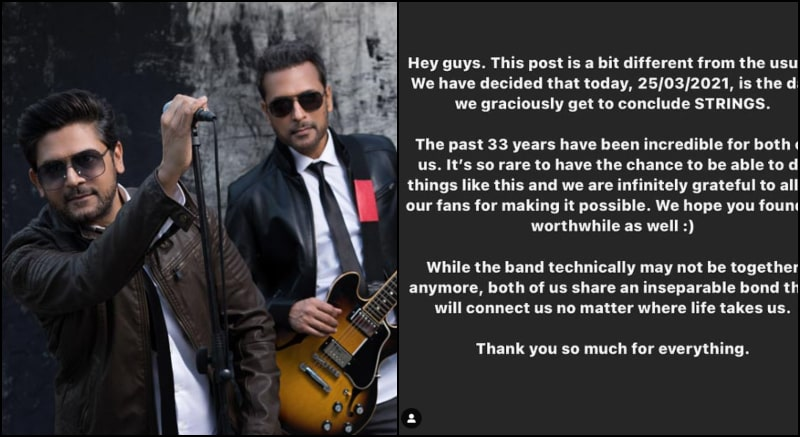 Fans Are Upset as Strings Announces to Part Ways after Incredible 33 Years