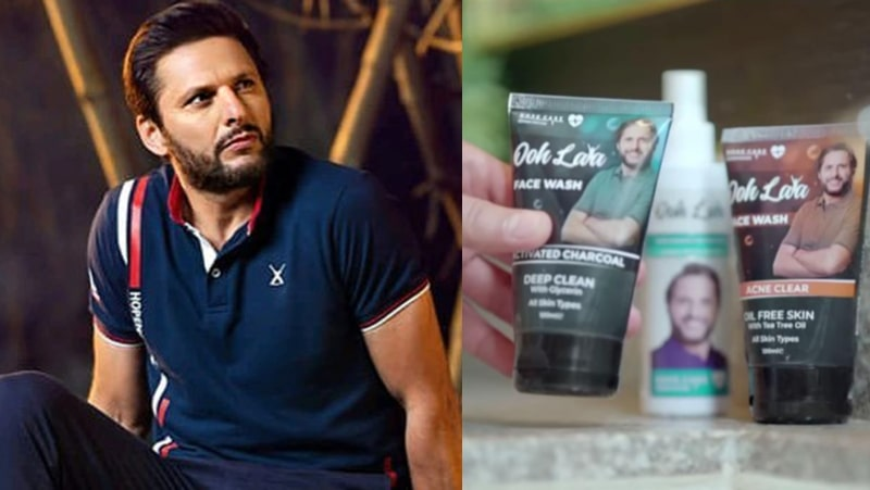 Shahid Afridi Launched his Skincare Line: Publicly Announced on Pakistan Day