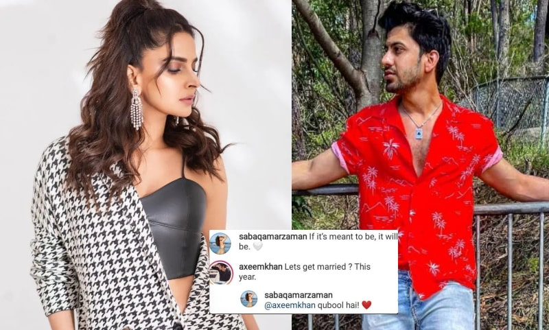 Actress Saba Qamar is Going to Marry this Blogger in 2021: Unbelievable