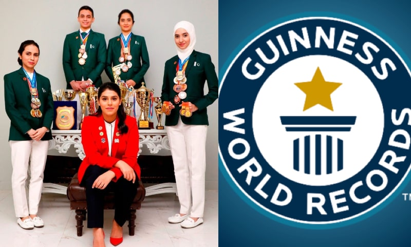Two Pakistani Girls Snatch 3 Guinness World Records Titles from India & Sweden