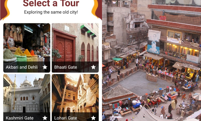 LUMS Students Develop an App for Tourists For Insight into Lahore's Walled City