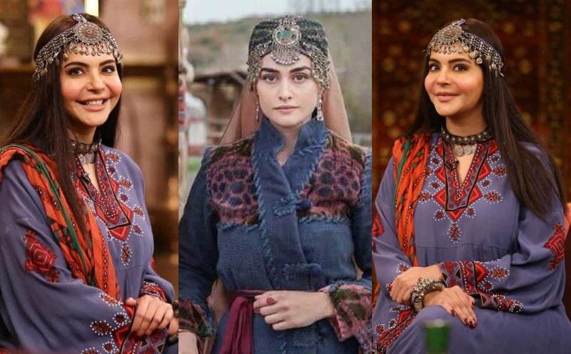 The Internet Trolls Nida Yasir For Dressing up like Halime Sultan