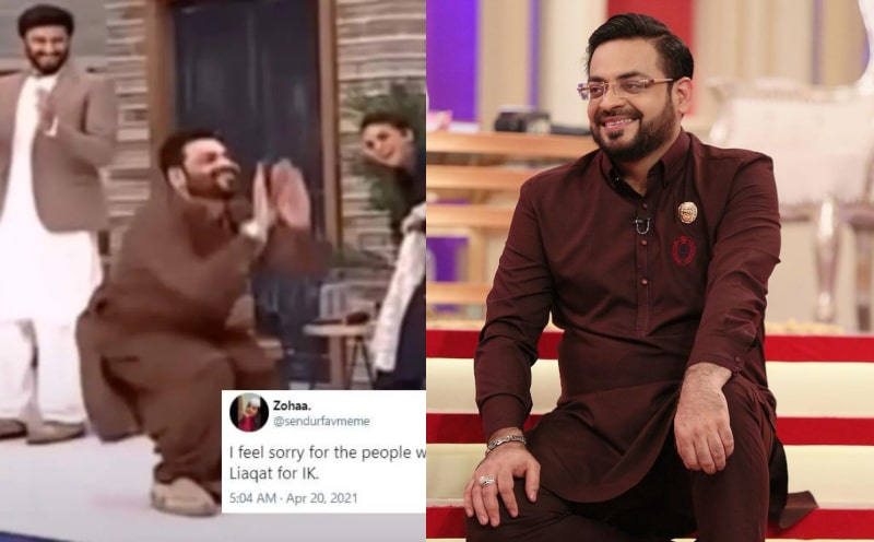 Amir Liaquat's Nagin Dance Video Goes Viral: MUST WATCH
