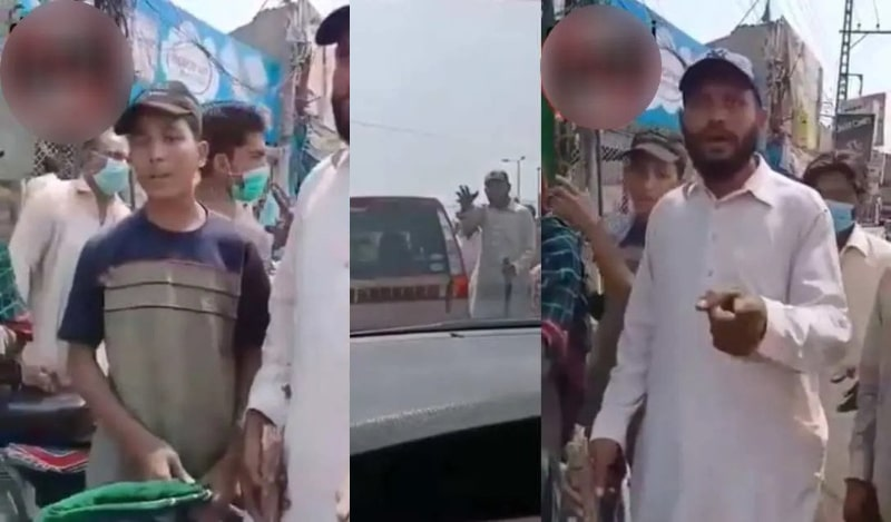 Watch: How A Ballsy Woman of Lahore Chivalrously Confronts TLP Goons