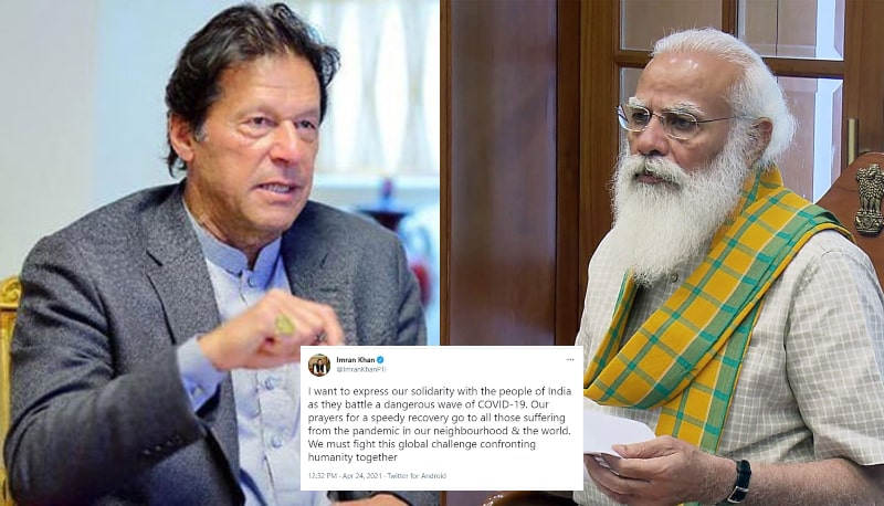 PM Imran Khan's Solidarity Tweet Urges Indians to call Modi 'A Murderer'