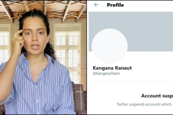 Twitter Permanently Suspends Kangana Ranaut Account For Violating Rules