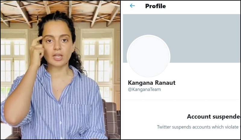 Twitter Permanently Suspends Kangana Ranaut Account For 'Violating Rules'