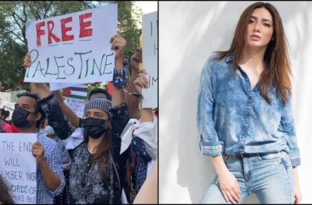 Mahira Khan's Missing Dupatta Gets 'Louder' than Pro-Palestine Protest: Poor Nation