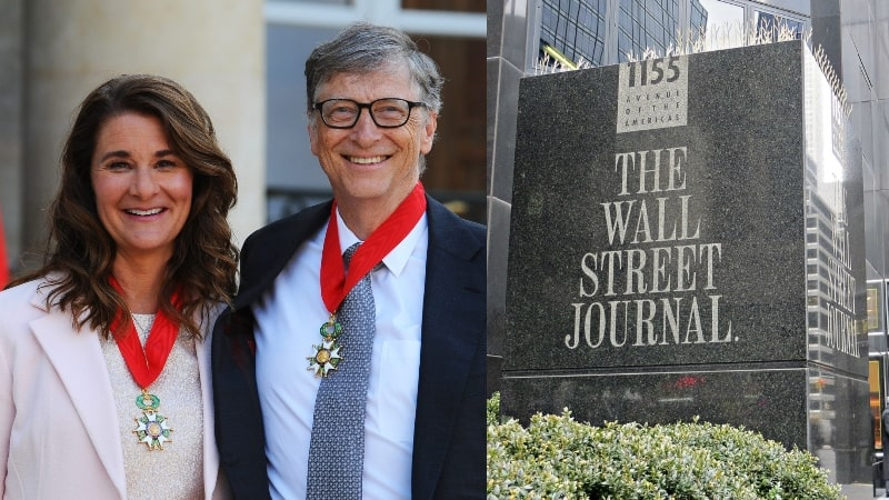 The Wall Street Journal Exposes Bill Gates's 'Questionable Behavior' That Urges Divorce