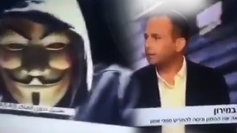 Hackers Interrupt Israeli TV Broadcast with a Pro-Palestine Message