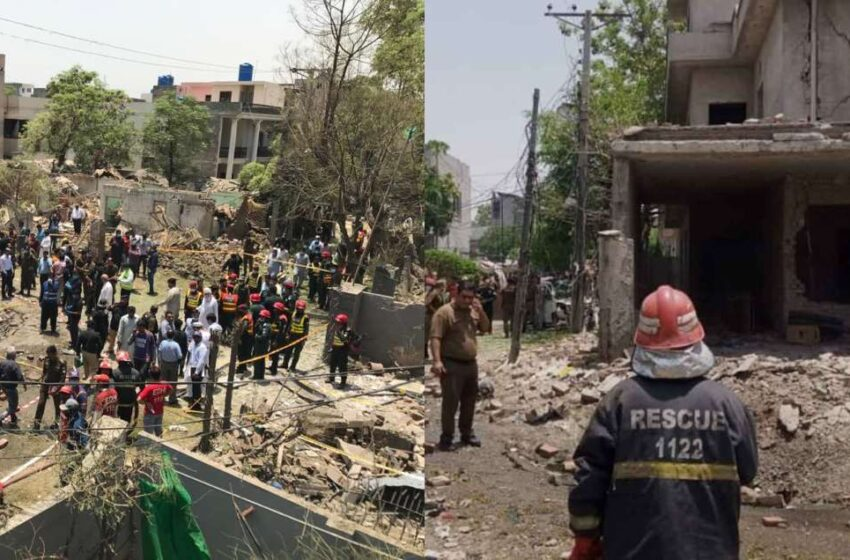 Johar Town Blast has Terrified the People as 21 Injured Reported by Police
