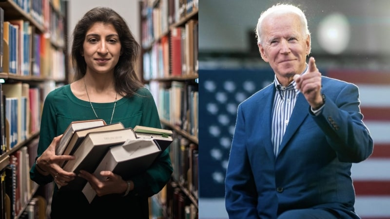 US President Joe Biden Appoints 32-Year-Old Lina Khan to Head Big Tech